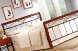 Кровать Garda 4, 140 (металл-гевея), бу